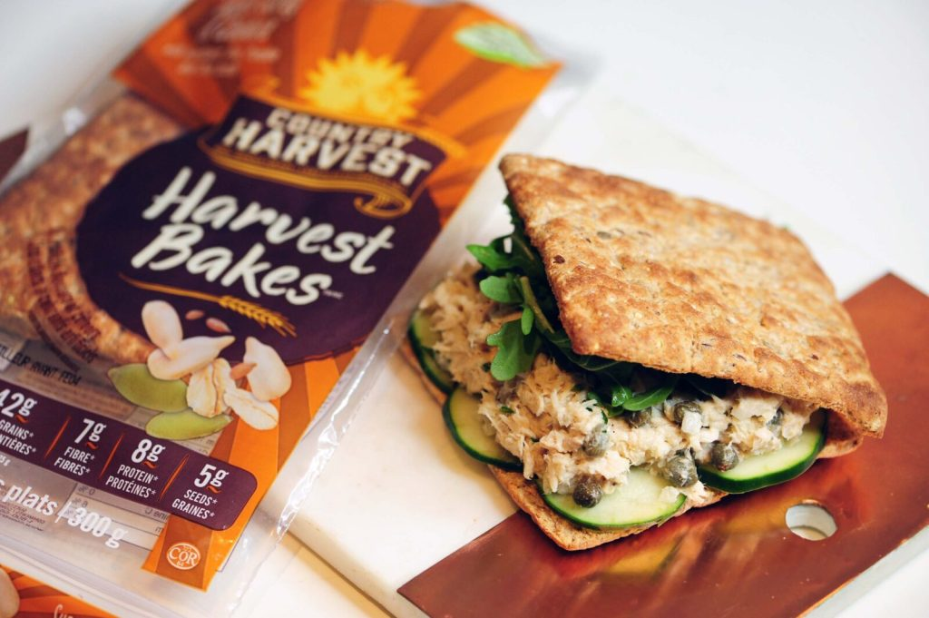 Gracie Caroll - My Tablespoon Tarragon Tuna Salad Recipe with Country Harvest Bakes
