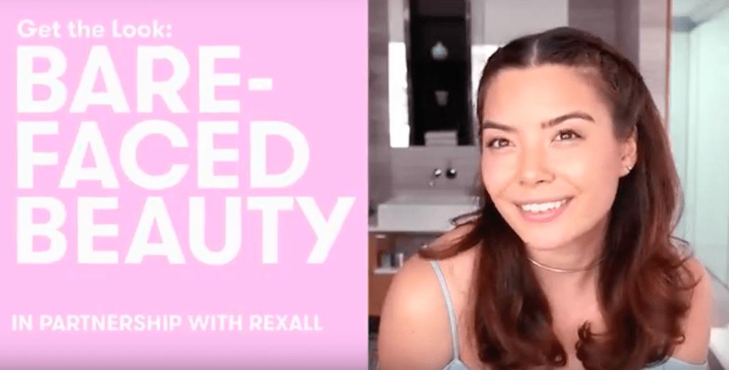 bare face makeup tutorial video