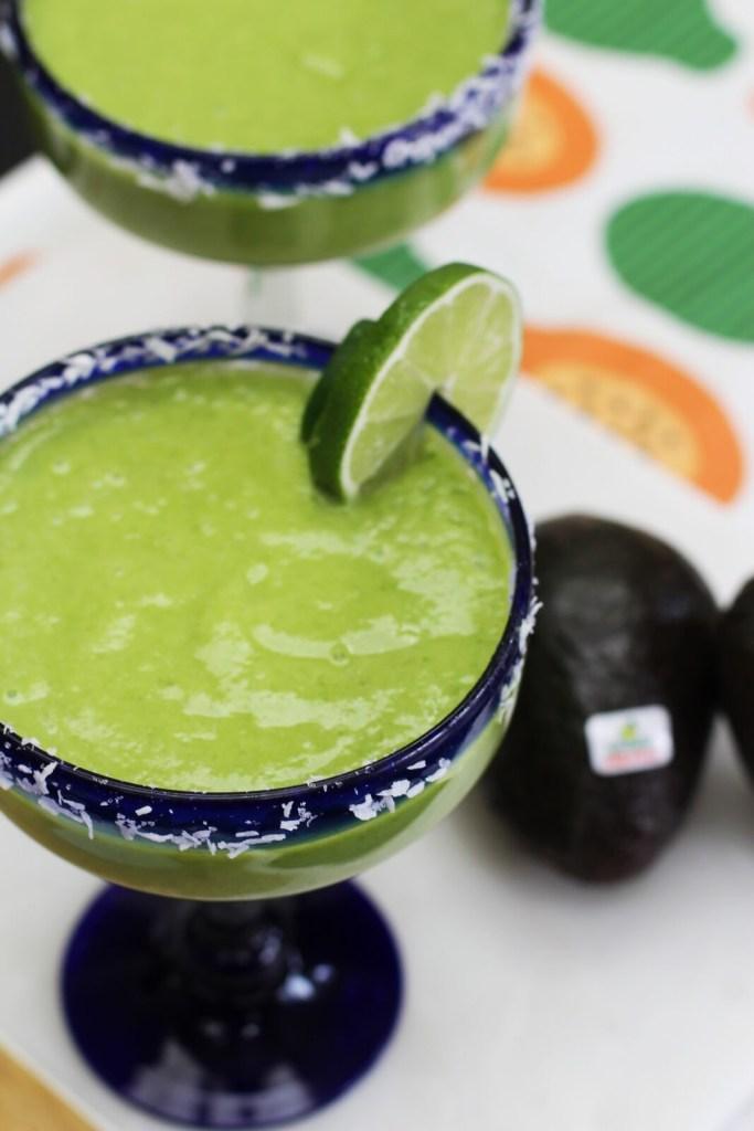 Tropical Coconut Avocado Margarita Recipe - Cinco de Mayo - Gracie Carroll