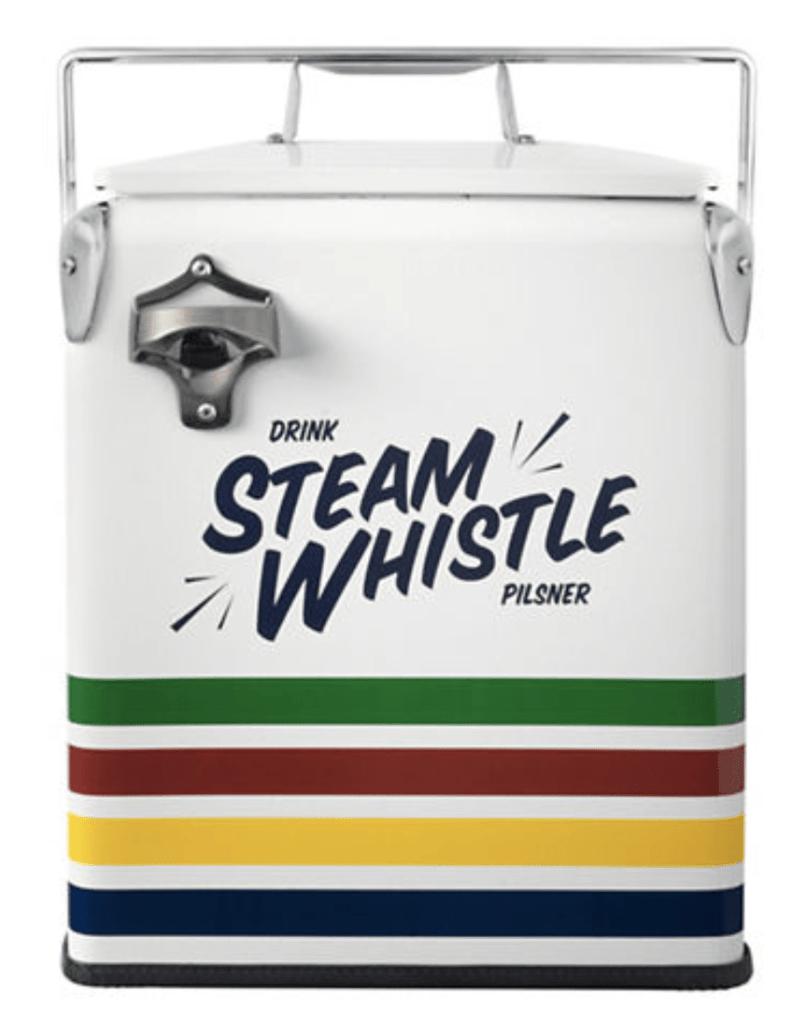 HBC x Steam Whistle collaboration cooler