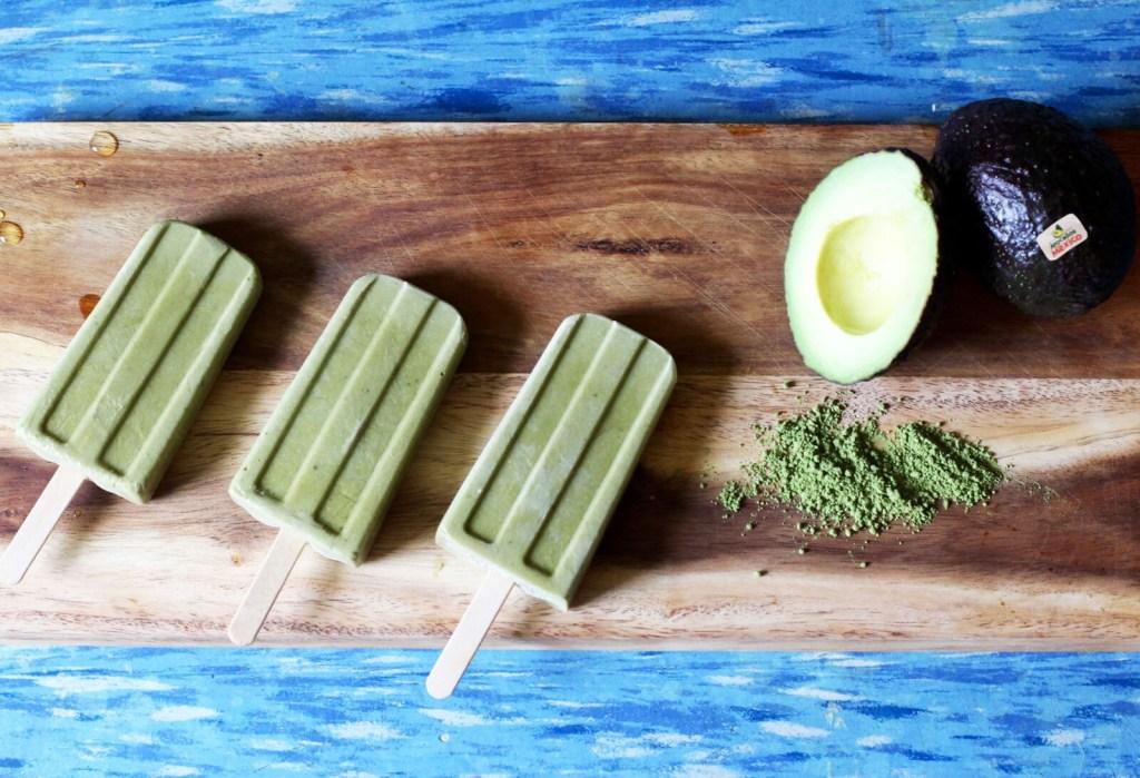 Gracie Carroll - Healthy Homemade Vegan Avocado Matcha Popsicles Recipe
