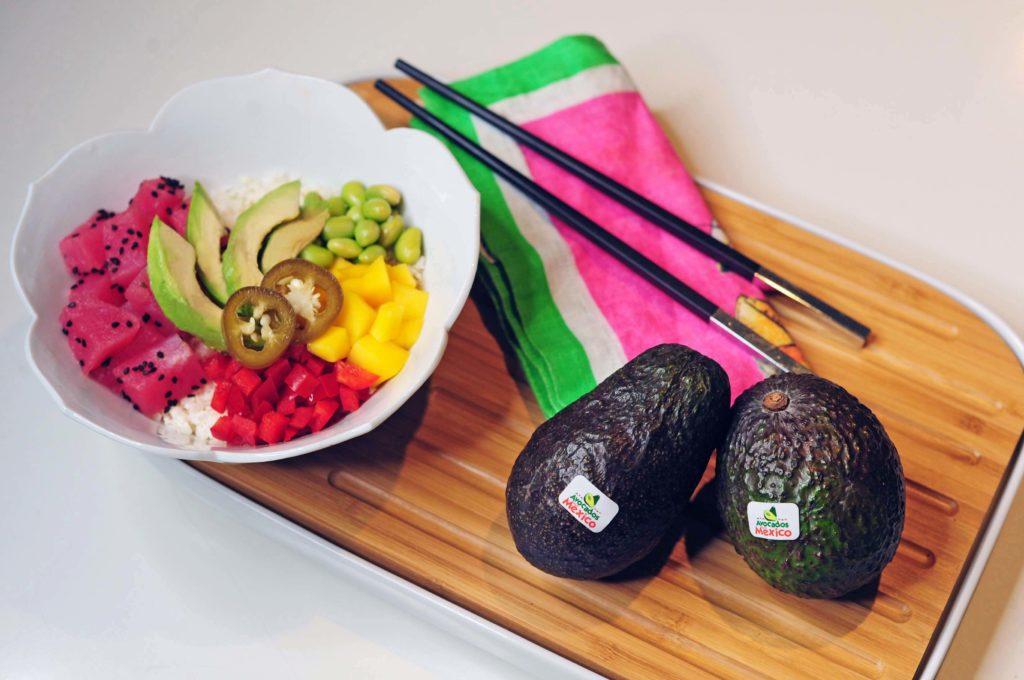 12 Amazing Avocado Recipes - Avocado Paleo Poke Bowl Recipe - Gracie Carroll