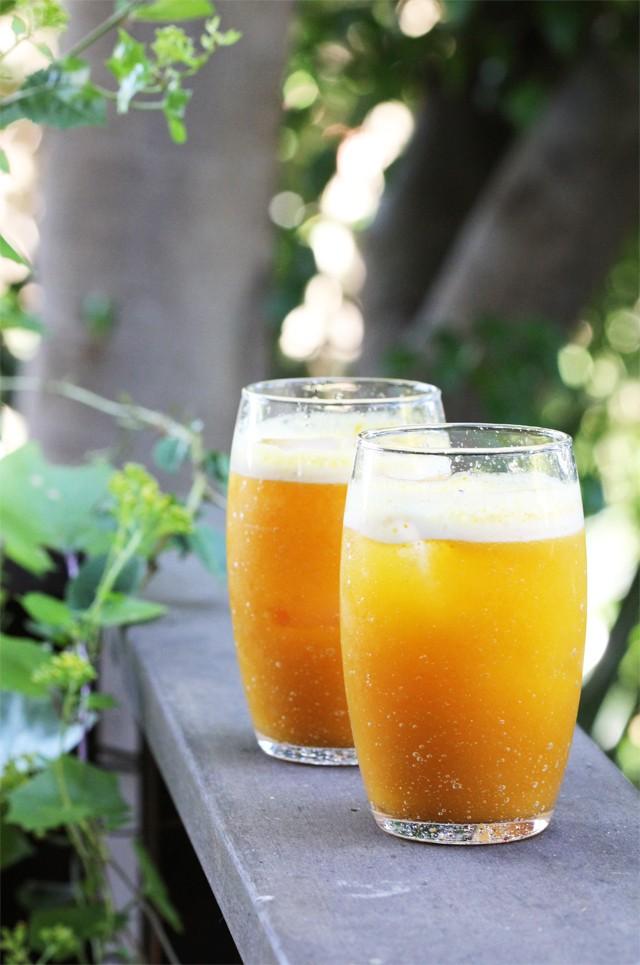 Pumpkin Apple Cider Fizz Recipe