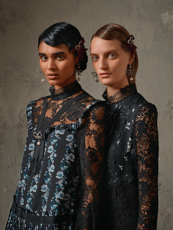 erdem x H&M collection lookbook