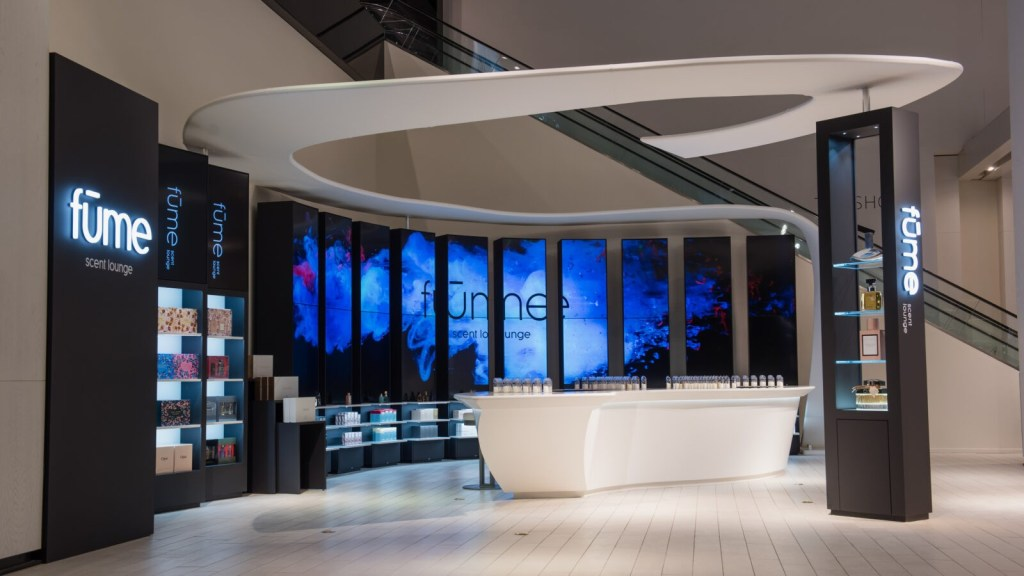 Coty Canada Fume Scent Lounge Yorkdale Hudson's Bay