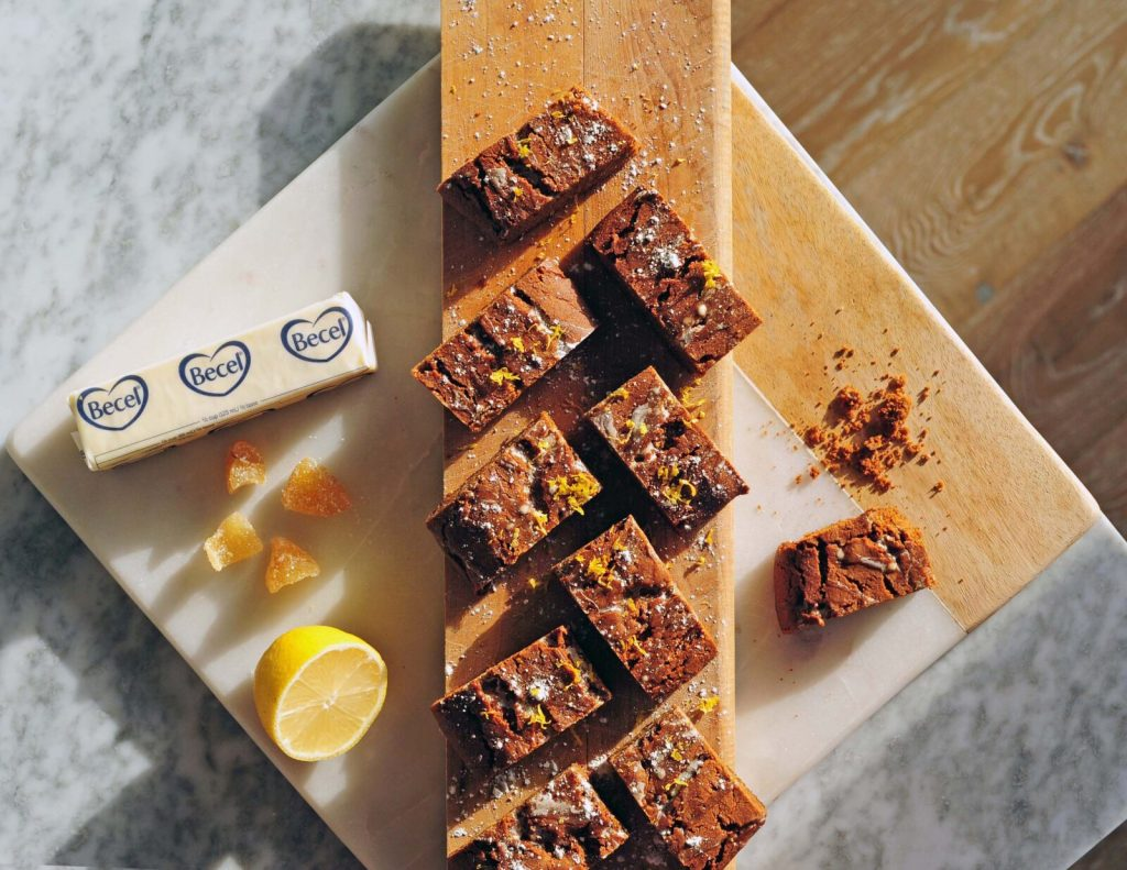 ina garten spicy hermit bars recipe - becel sticks - gracie carroll