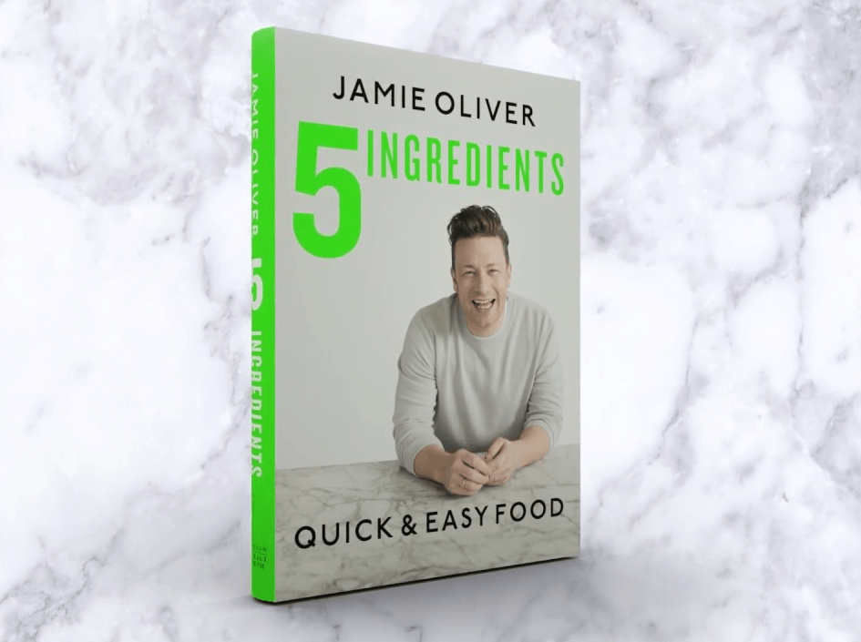 Jamie Oliver 5 ingredients cookbook