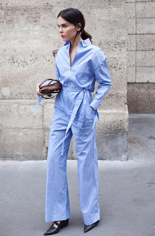 Stylebook 7 Ways To Wear A Jumpsuit Like A Street Style Star