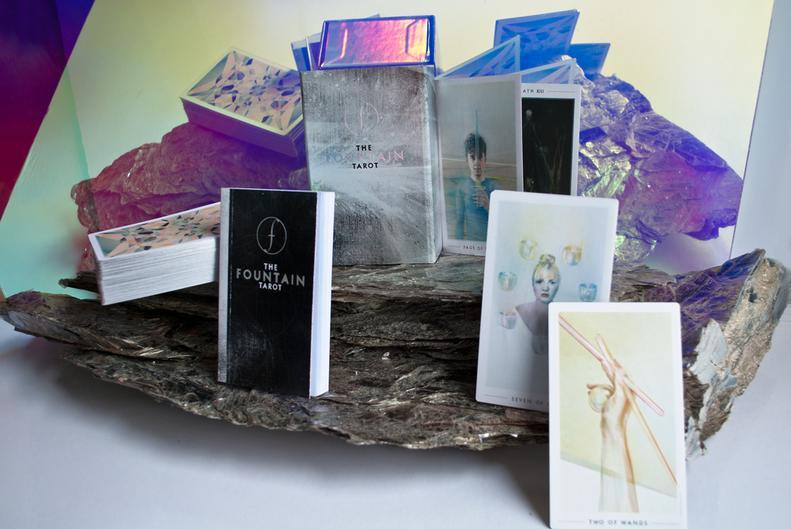 most beautiful tarot card decks - the fountain tarot deck