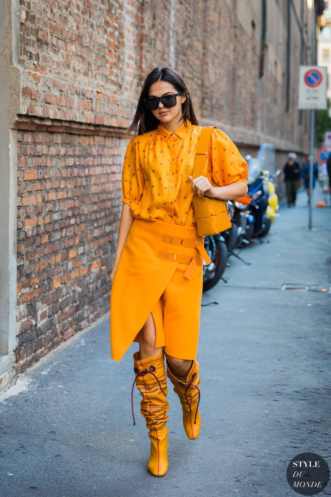 head to toe yellow stylebook edit seven toronto 2018