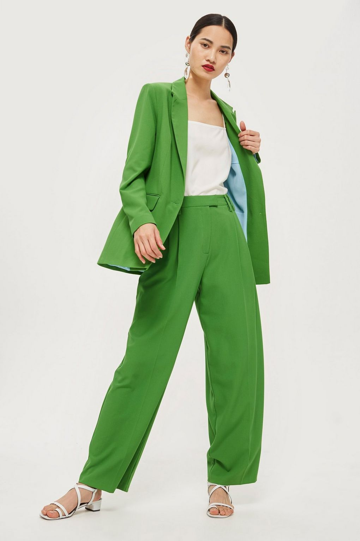 Topshop Green Suit edit seven 2018 toronto