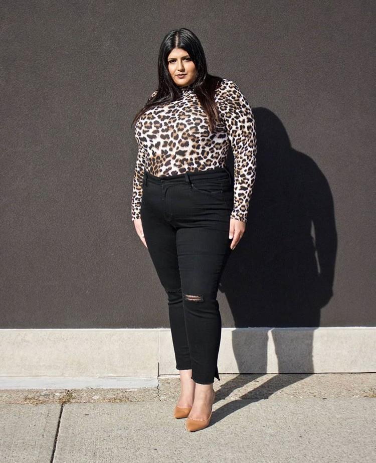 sara sohail leopard print edit seven toronto 2018