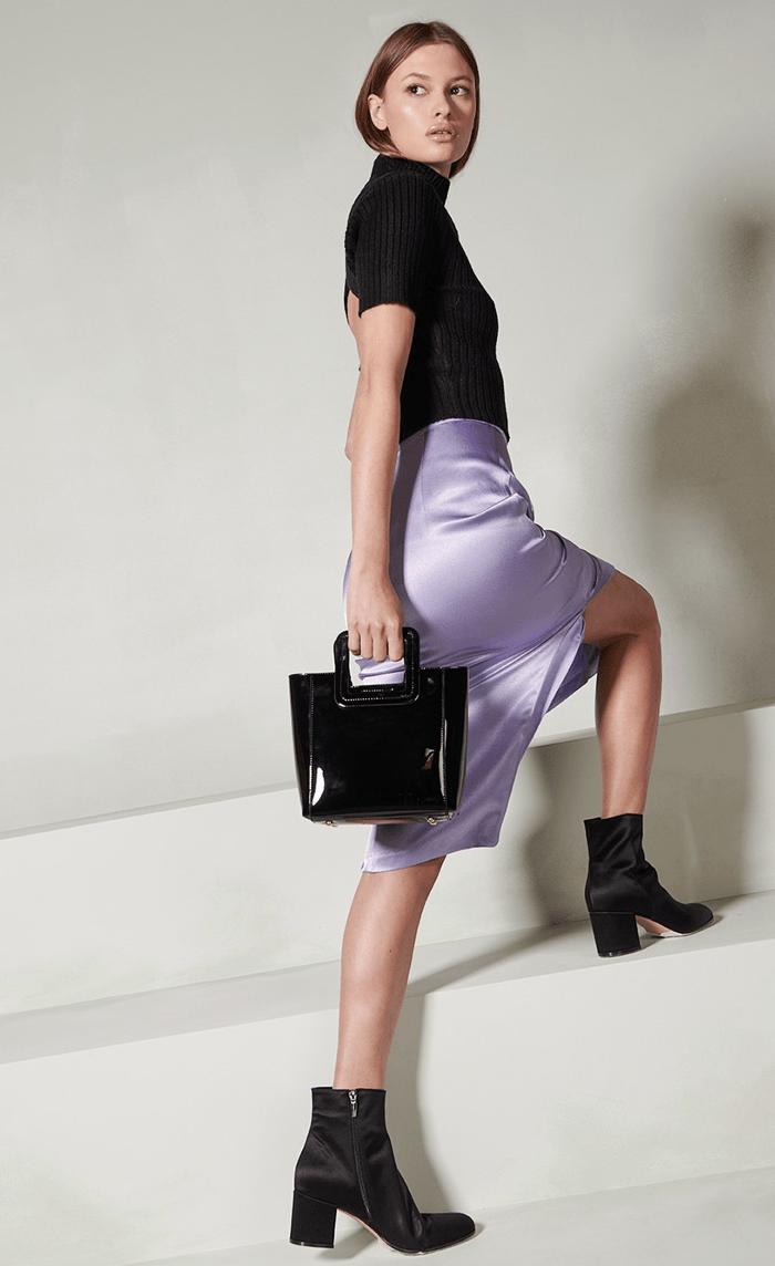 staud clothing daphne skirt lilac stone toronto edit seven 2018