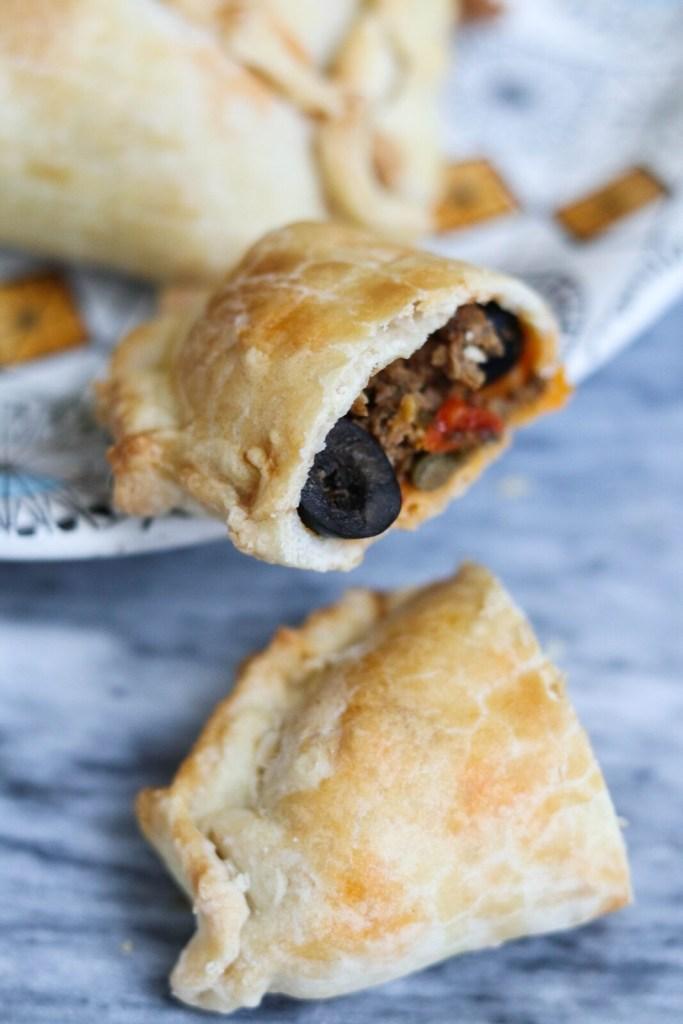 homemade empanada recipe with chorizo and olives from spain - gracie carroll - edit seven