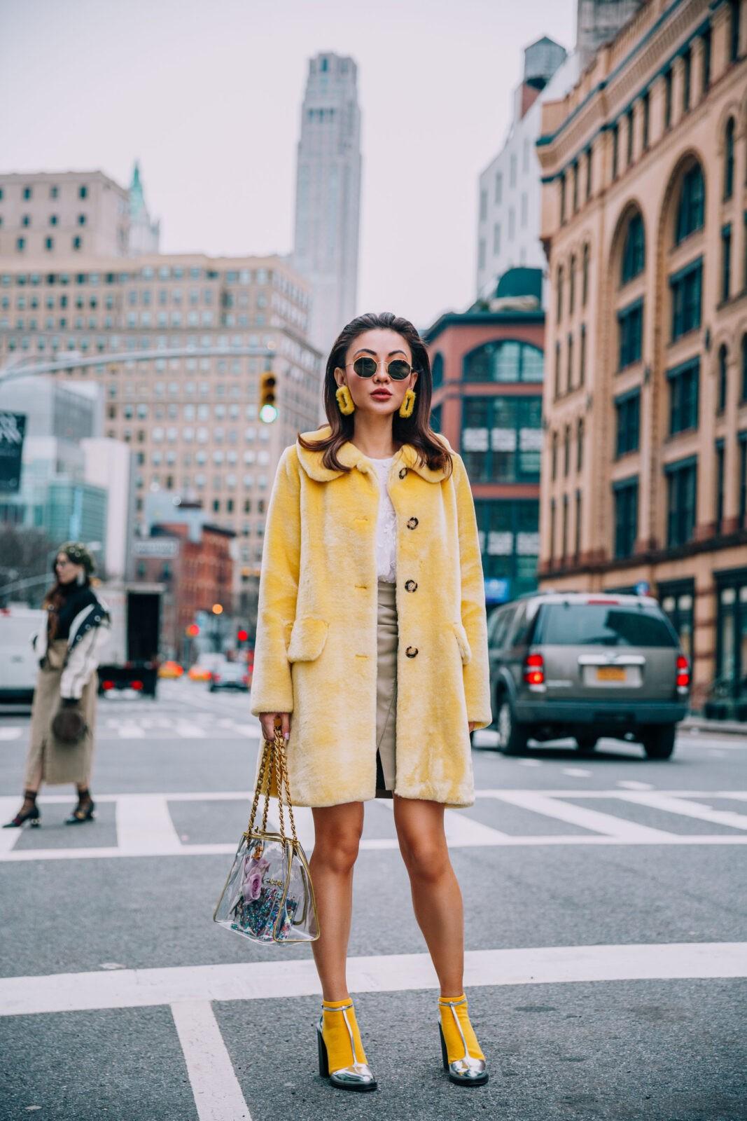 Jessica Wang yellow stylebook edit seven toronto 2018