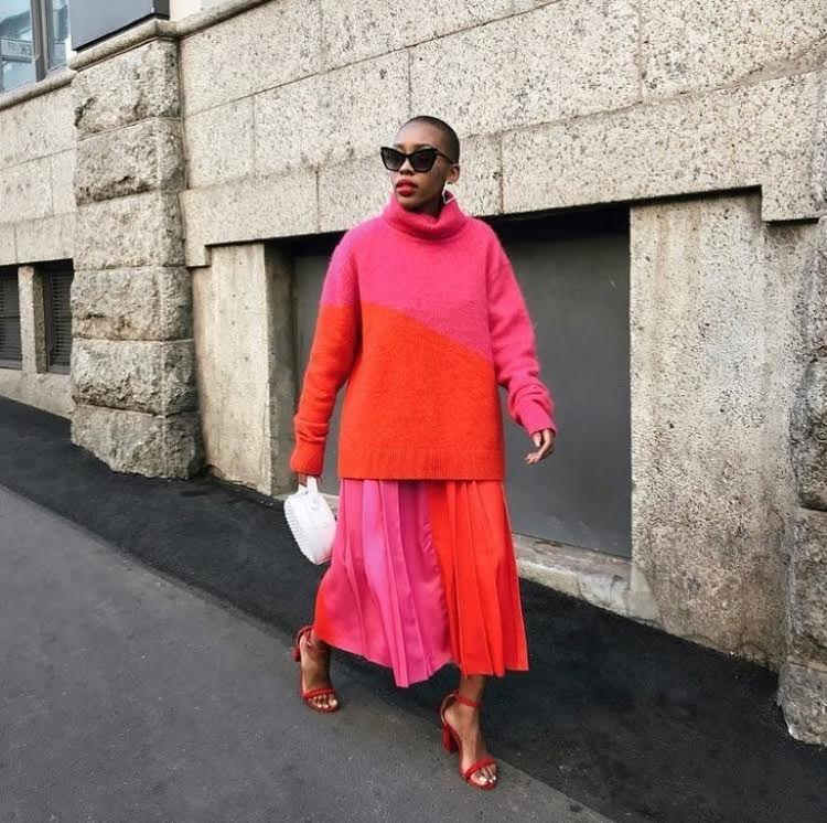 Shelley Mokoena oversized sweaters edit seven stylebook 2018