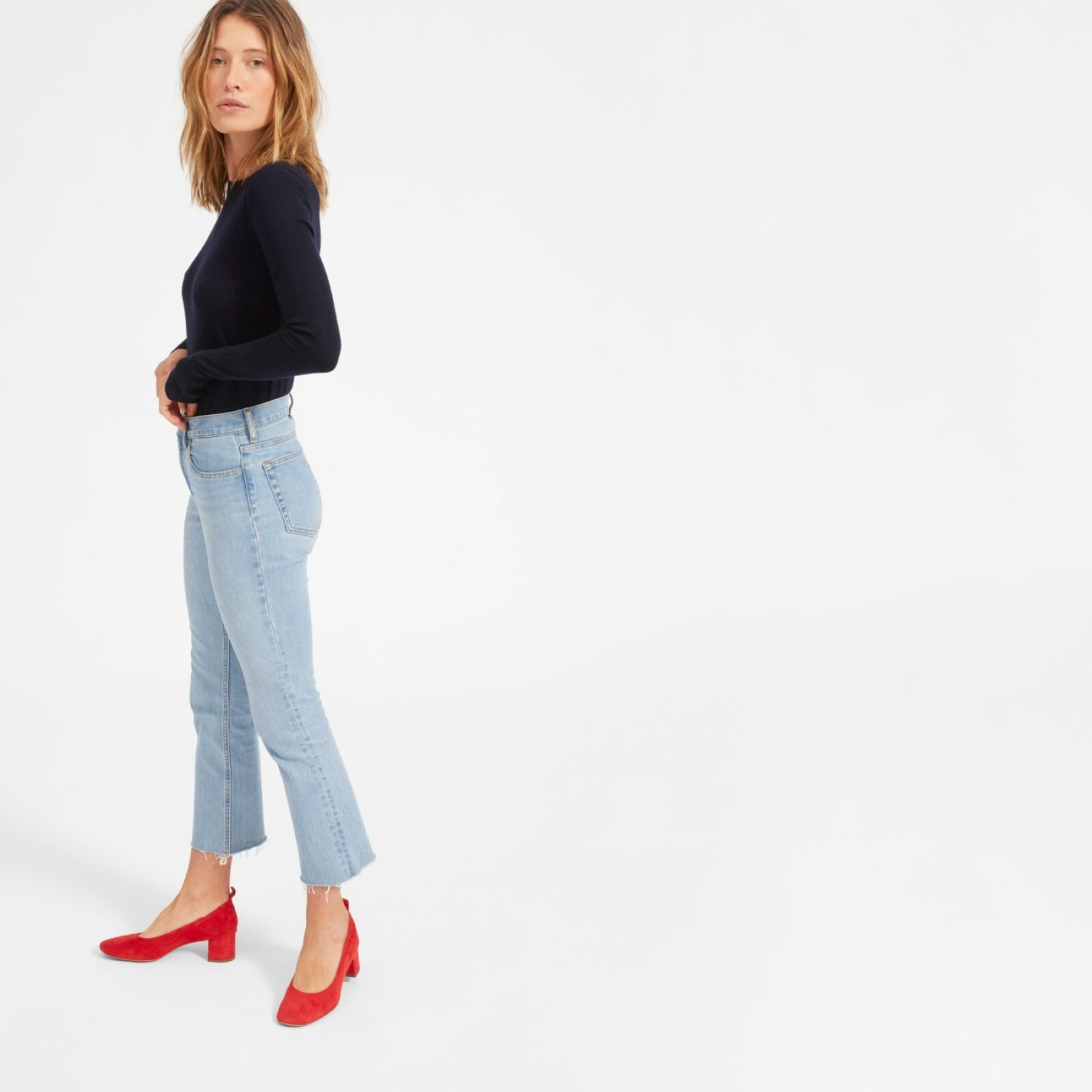 Everlane Kick Crop Jeans