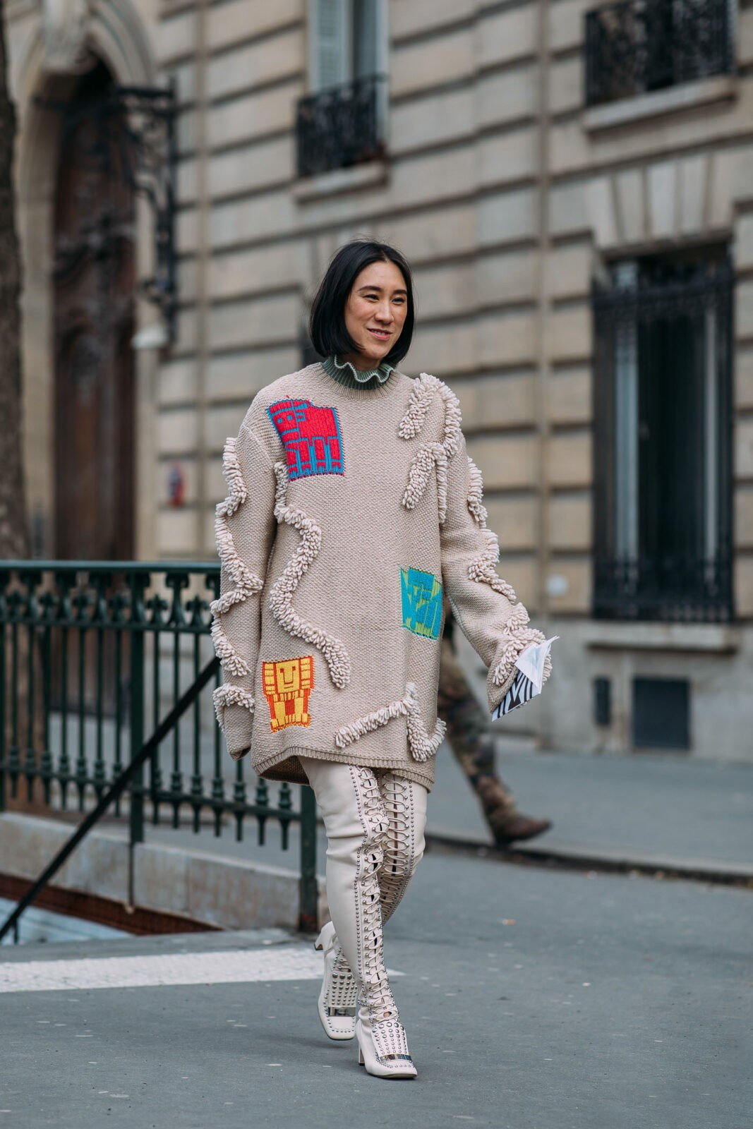 Eva Chen oversized sweaters edit seven stylebook 2018