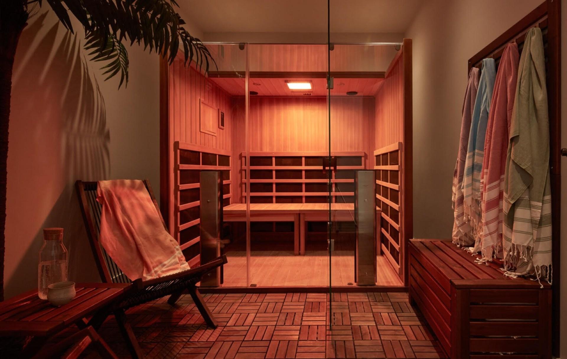 hoame toronto edit seven infrared sauna meditation