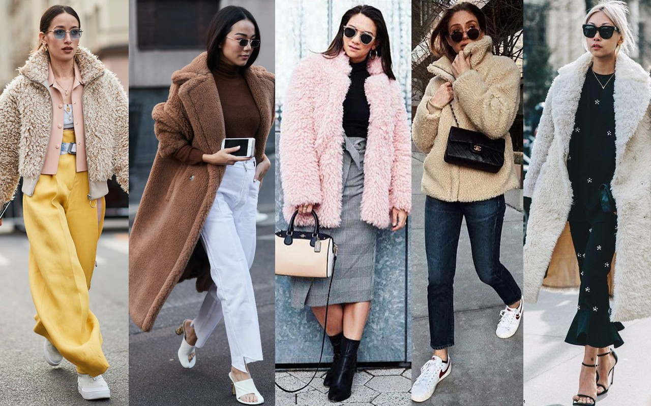 teddy bear coat toronto stylebook edit seven 2018