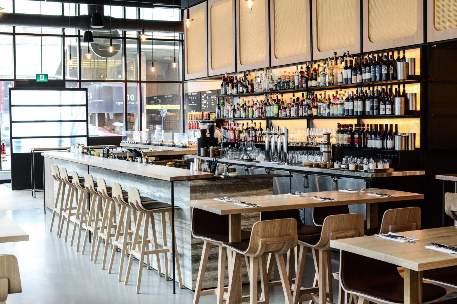 Bar Buca Eglinton venue-bar
