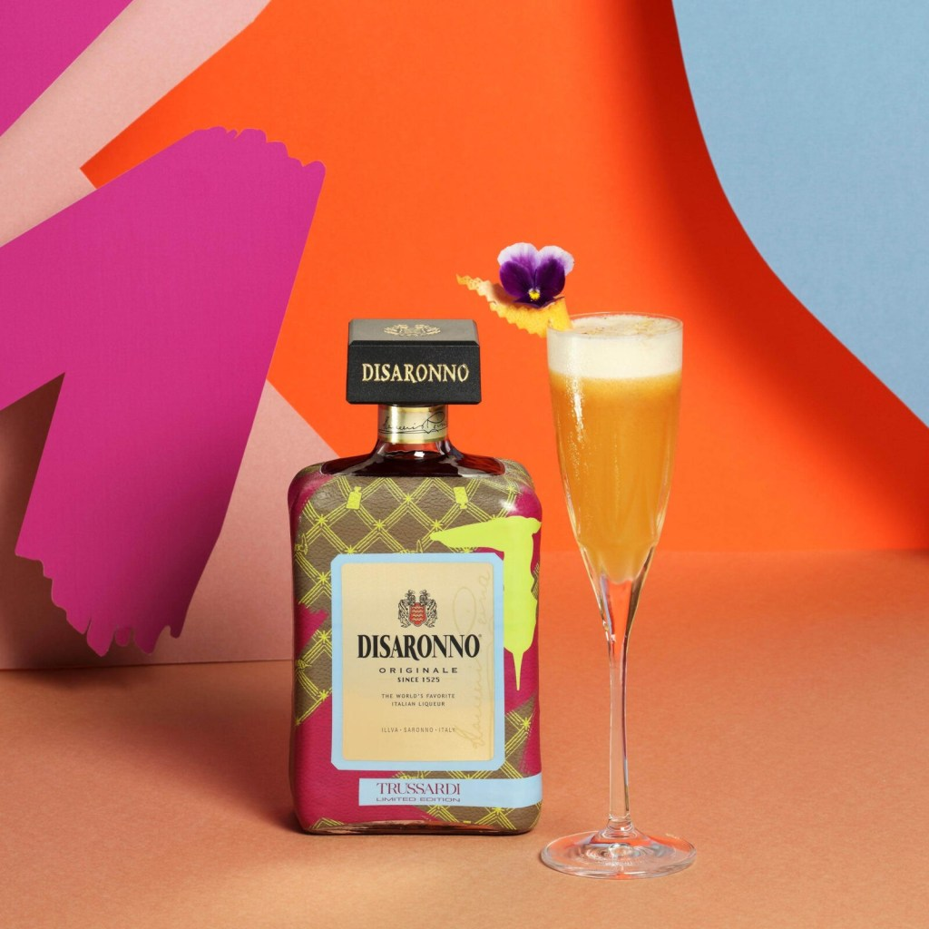 Disaronno Trussardi bottle cocktail recipe low