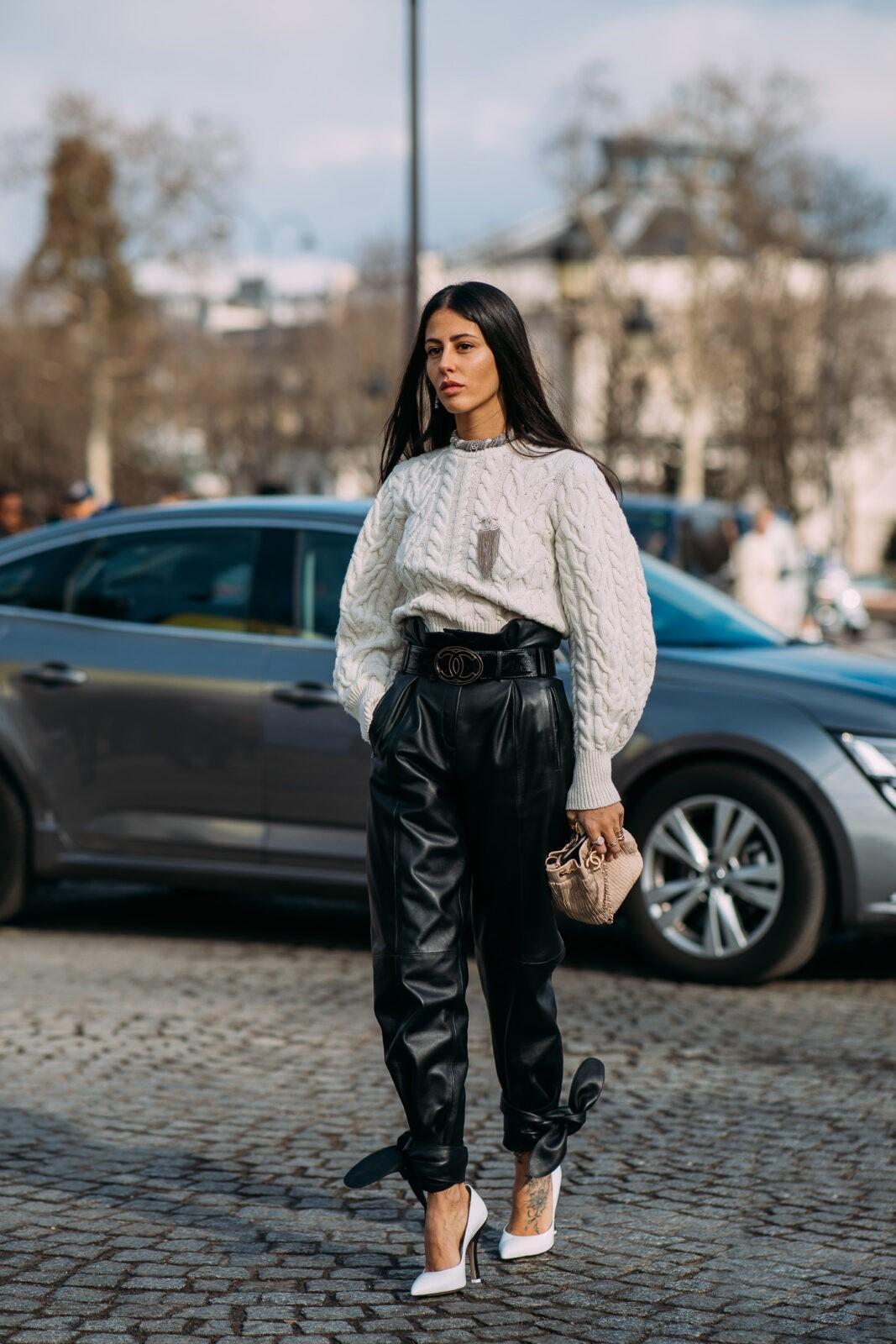 Gilda Ambrosio edit seven stylebook cable knit sweaters toronto