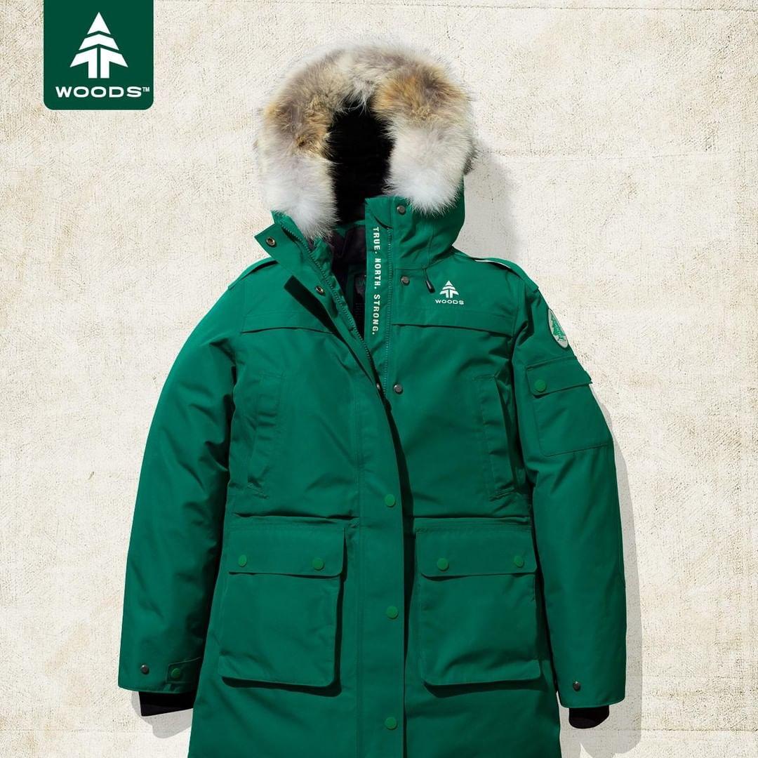 Woods investment winter coat edit seven