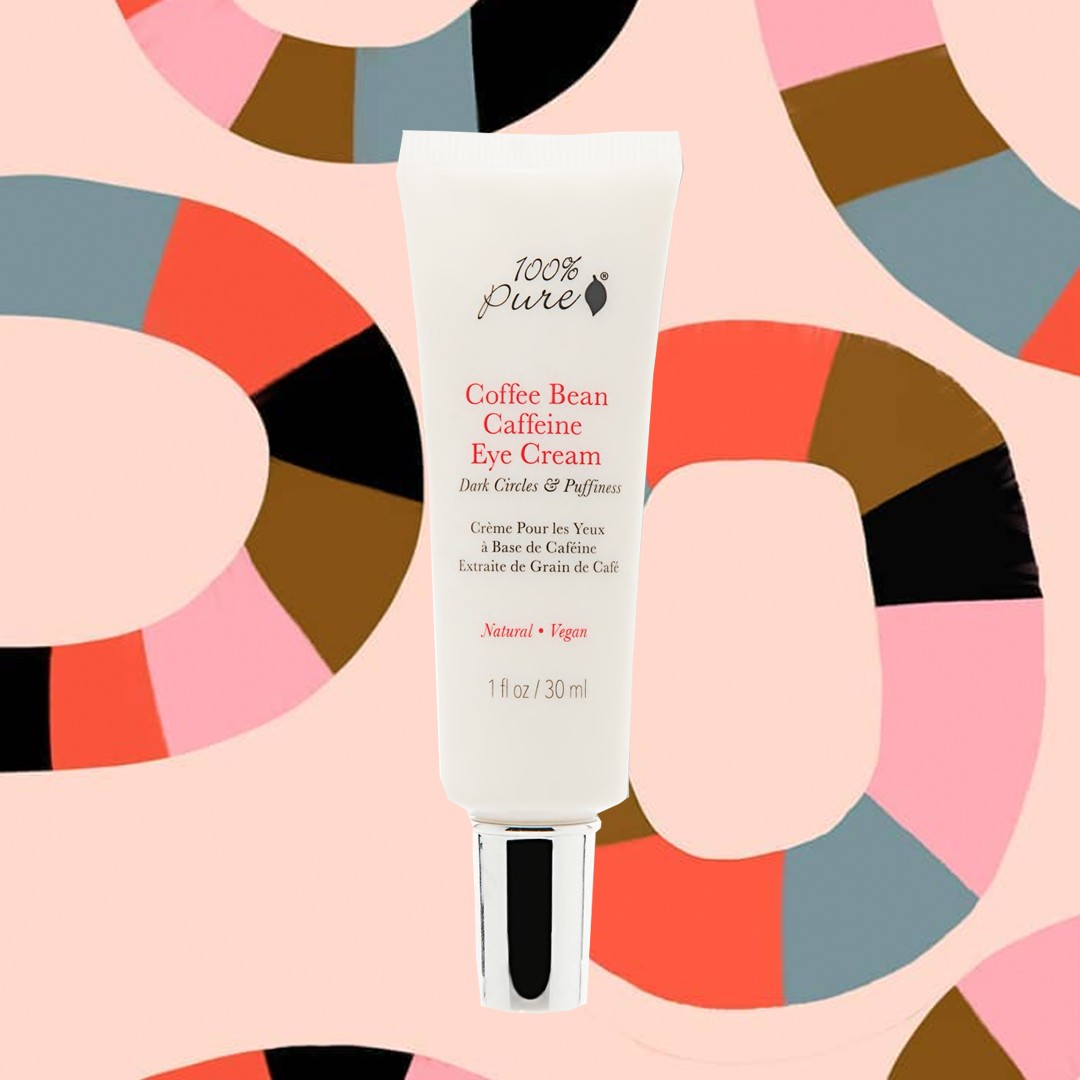 100 pure caffeine eye cream how to hide your hangover edit seven beauty