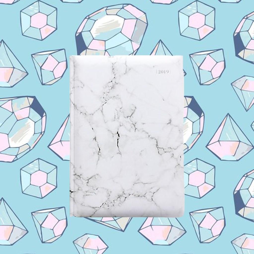 marble agenda edit seven staples gift guide