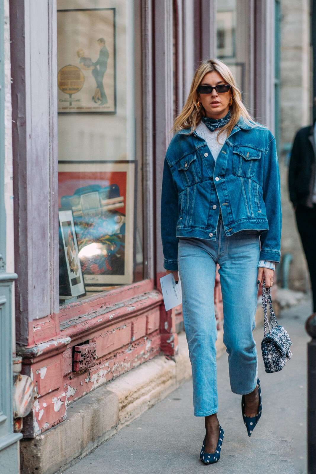 Camille Charriere denim jackets stylebook edit seven