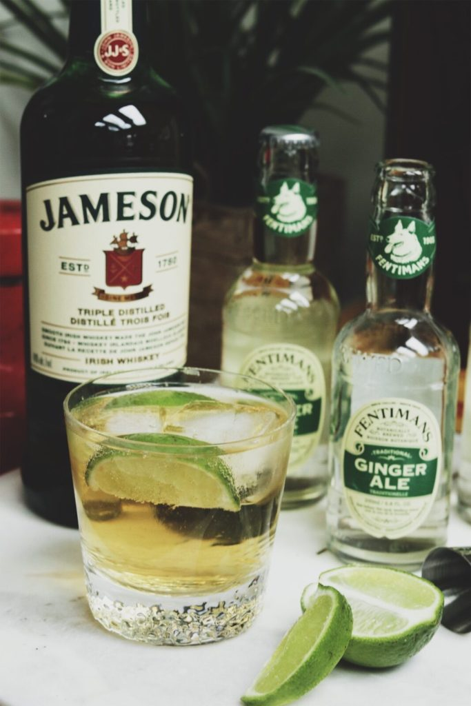 What To Make Celebrate St Paddy S Day With A Jameson Ginger And Lime