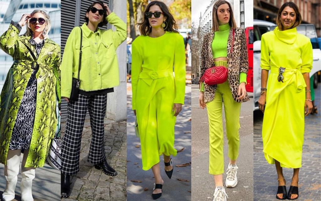 neon green edit seven stylebook