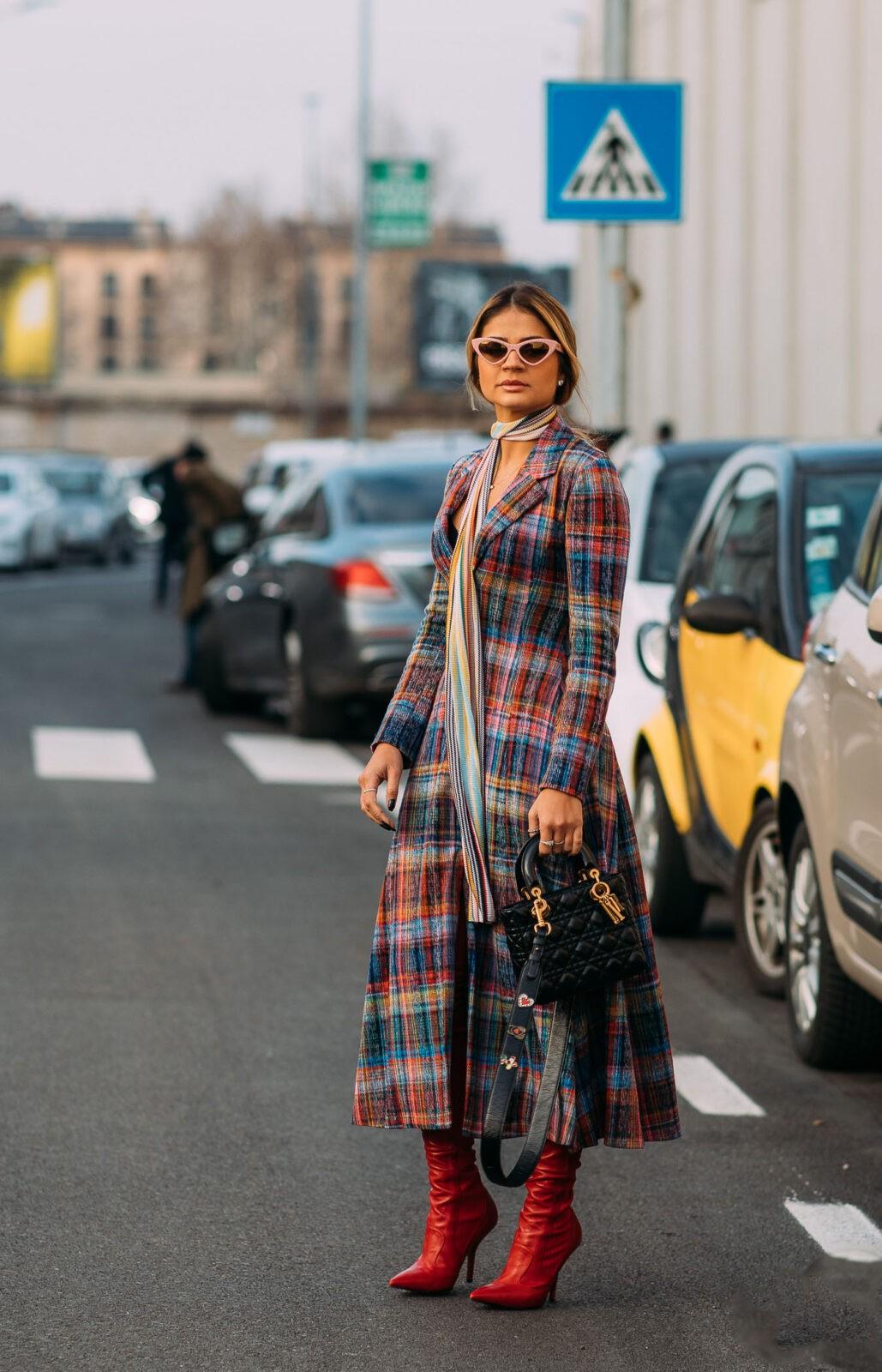 Thassia Naves tartan stylebook editseven