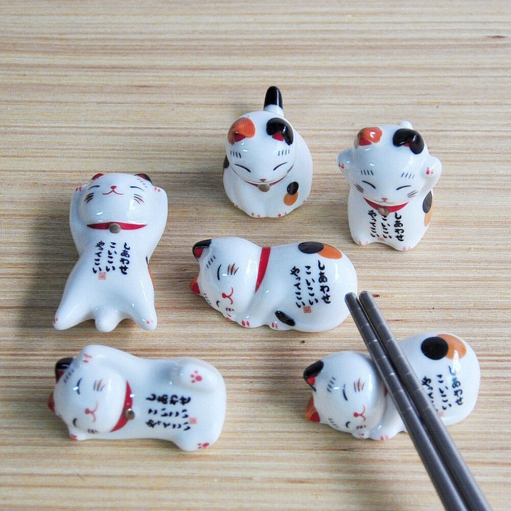 cute japanese chopstick rests