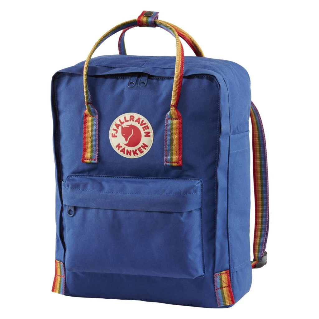 Fjallraven rainbow backpack