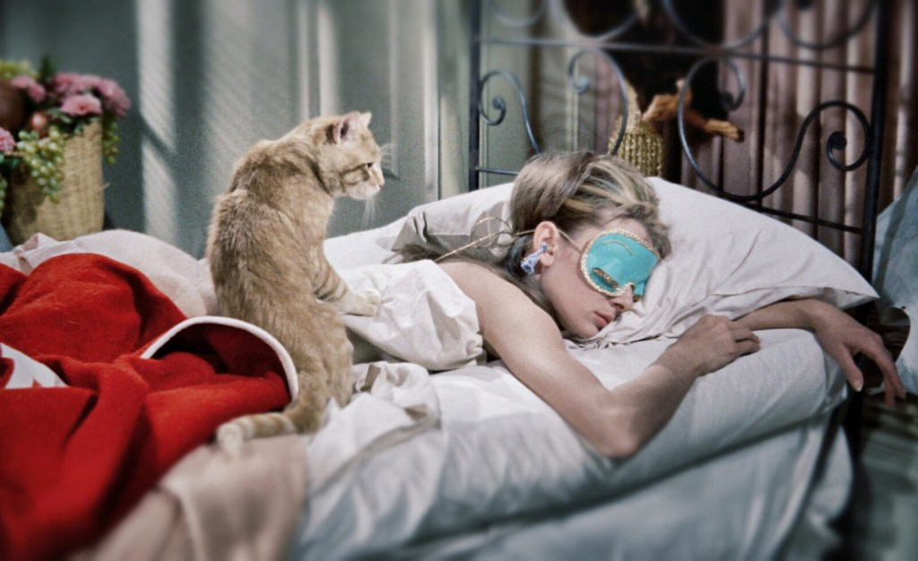 breakfast at tiffany's sleeping image