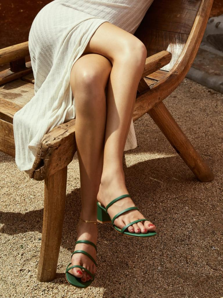 reformation menage sandal