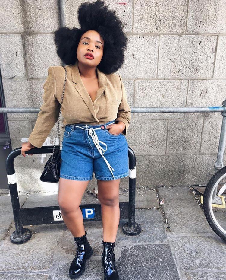 ada oguntodu edit seven stylebook denim shorts
