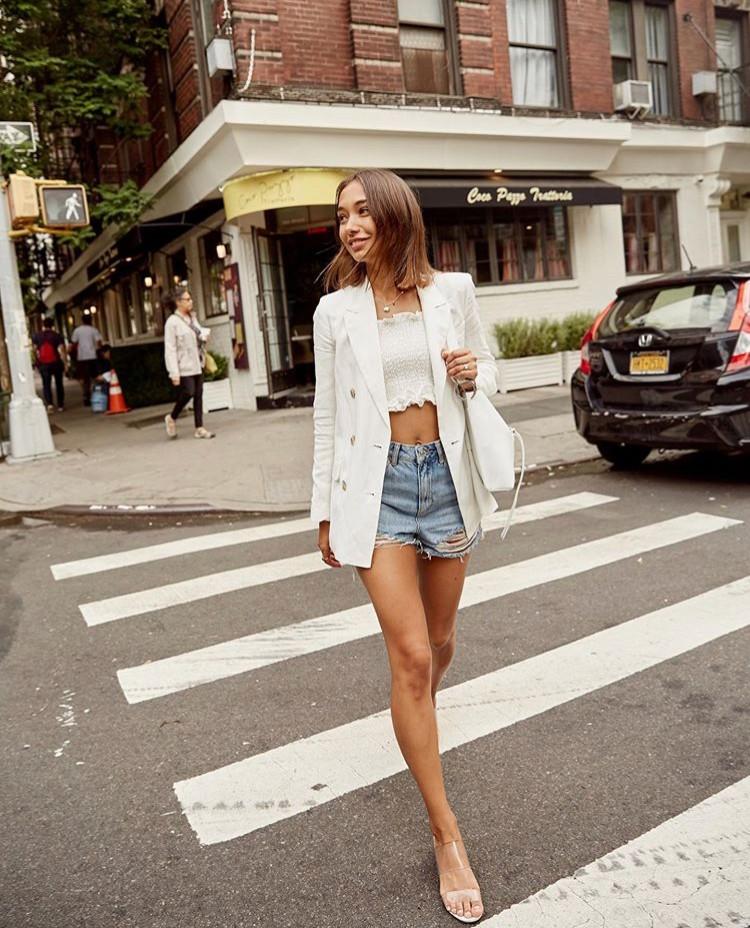 maria li edit seven stylebook denim shorts