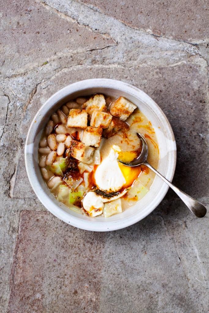 Tara O'Brady - Garlic Soup recipe - low