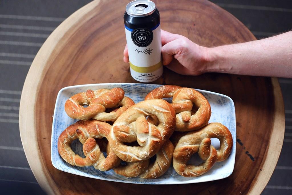 beer soft pretzels recipe