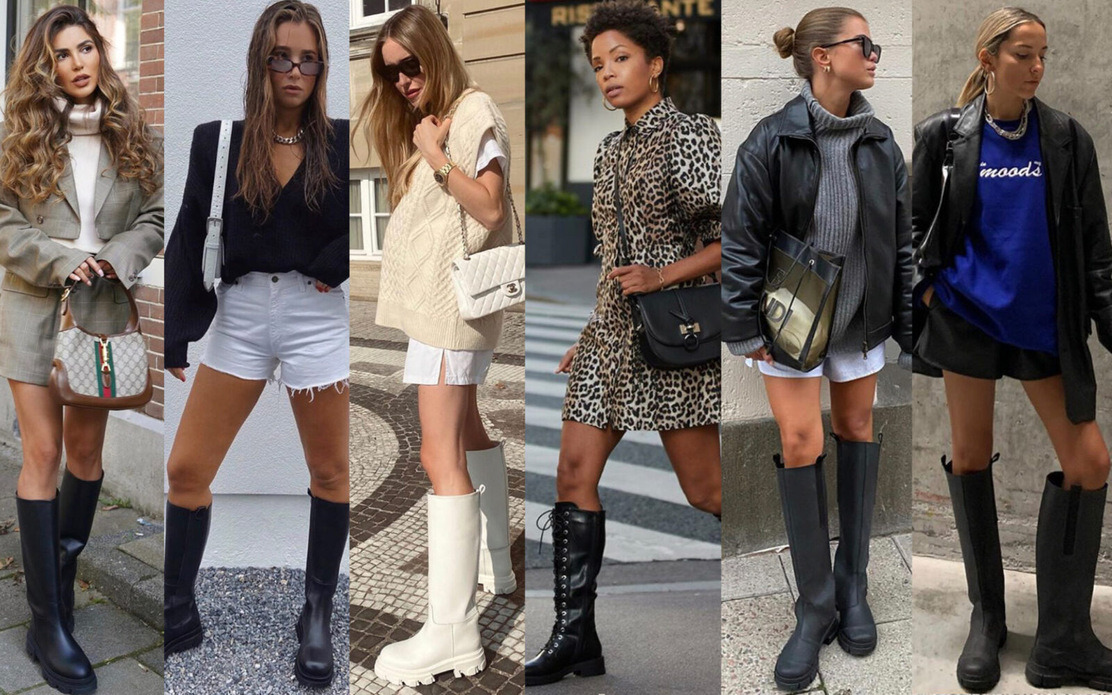 7 Ways To Wear Tall Chunky Boots This