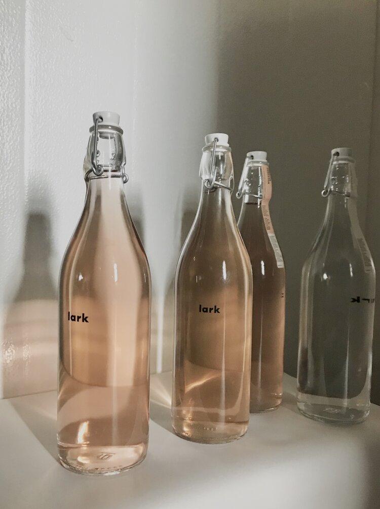 photo of Lark bottles