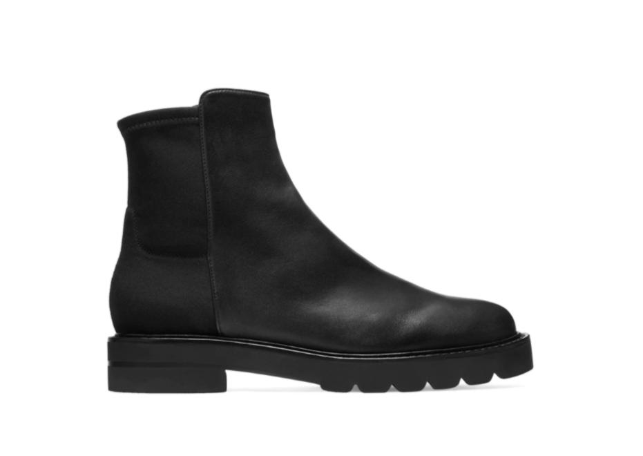 5050 Lift Bootie lug boots from Stuart Weitzman