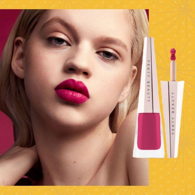 fenty lipstick for spring