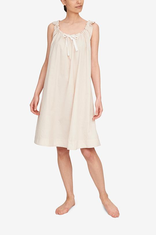 woman wearing nightdress inspired by Bridgerton fashion