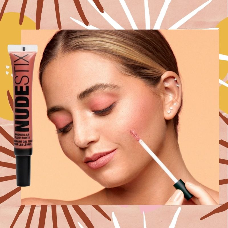 Nudestix lipstick in Waikiki Rose