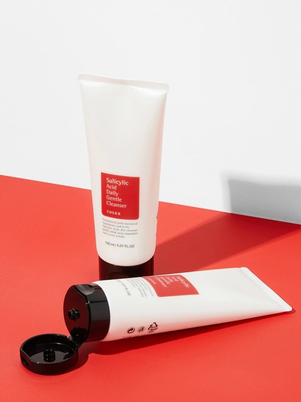 at-home facial - CosRx salicylic cleanser