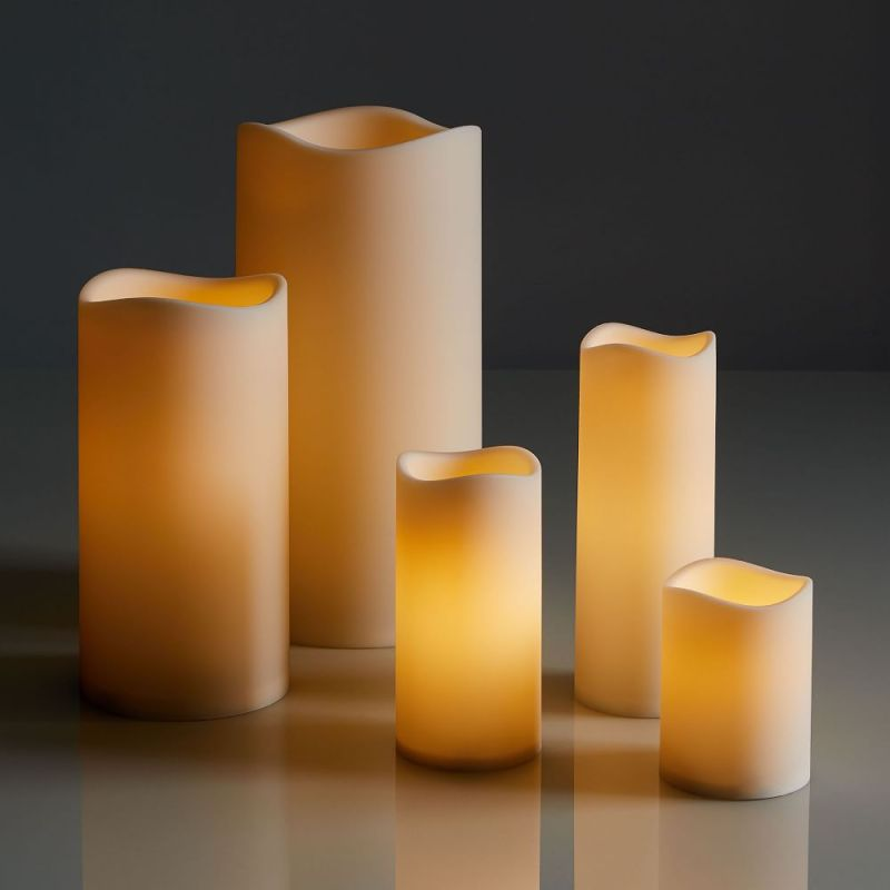 outdoor decorative candles